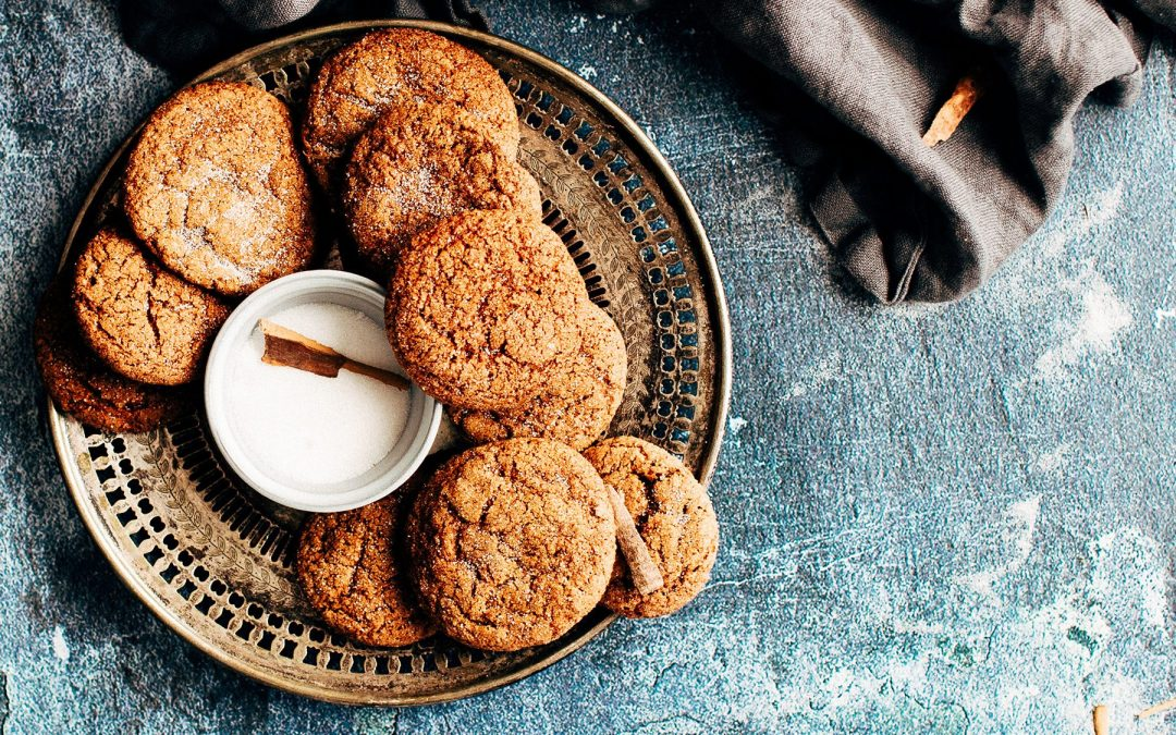 Rise & Shine Gingersnap Cookies